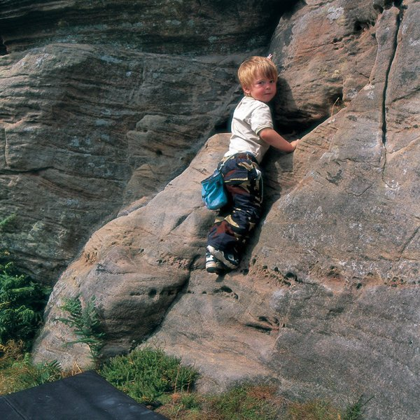 Bouldering-starts-young