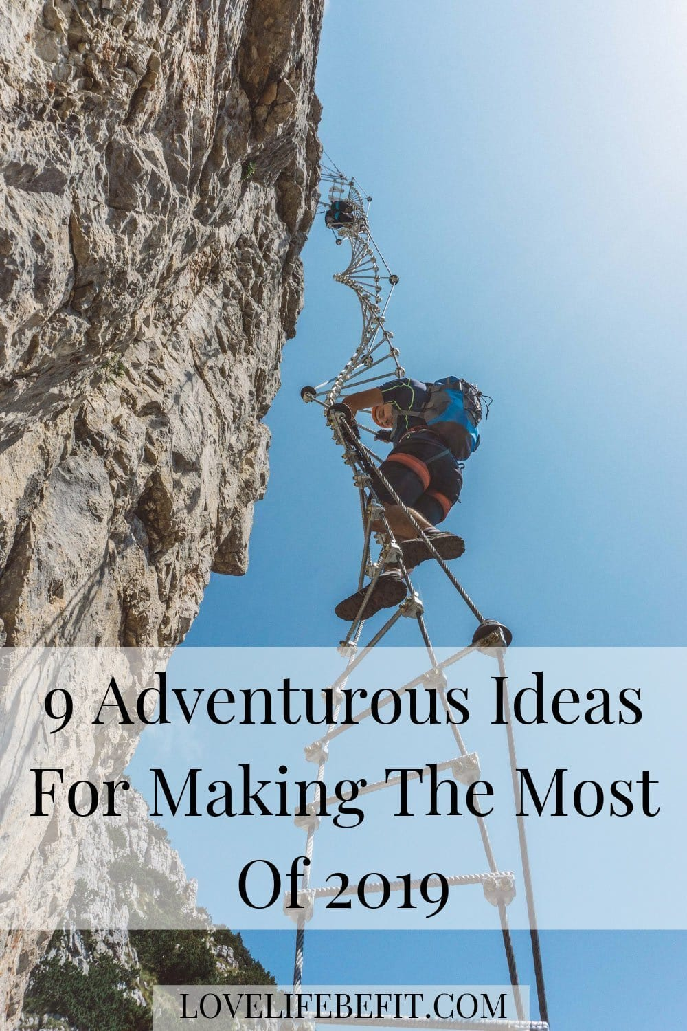 Start making room in your life for living with these nine adventurous ideas.  How many of these adventures can you tick in 2019? #adventure
