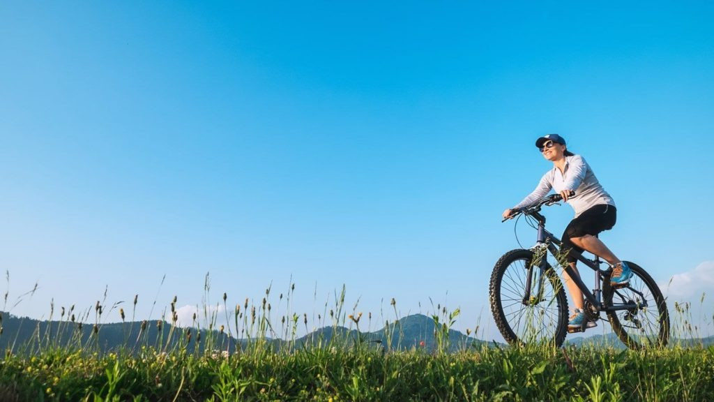 Cycling - love life be fit