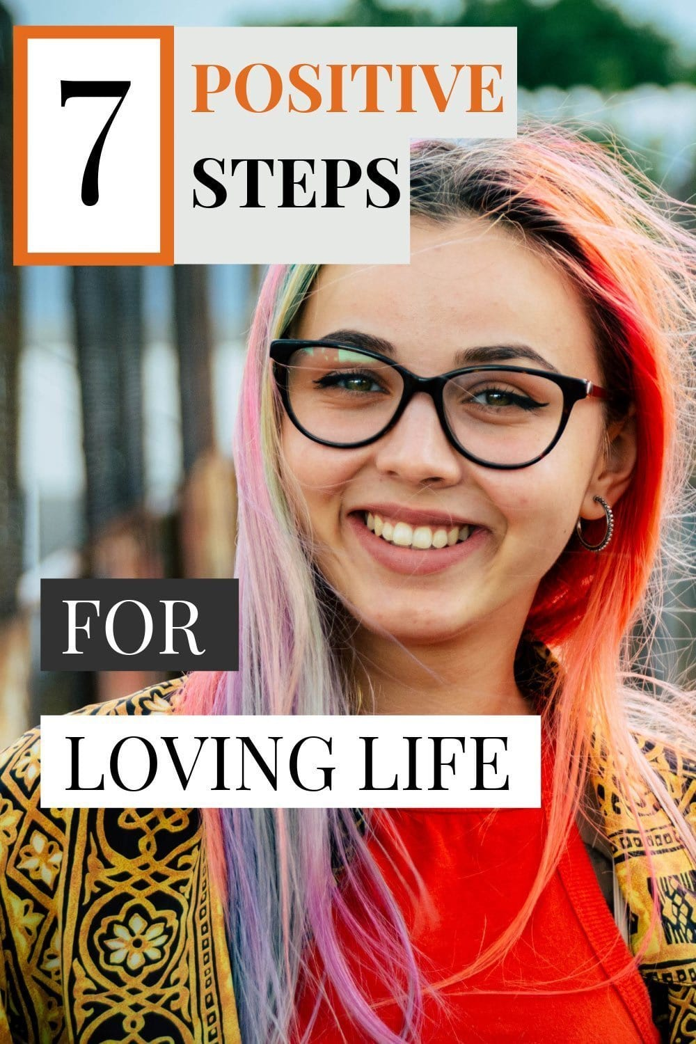 Buried in work and stressed out to the max, it\'s time to make a few life changes. Follow these seven steps to rediscover your love for life.