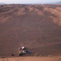 Wahiba sands wild camping Oman