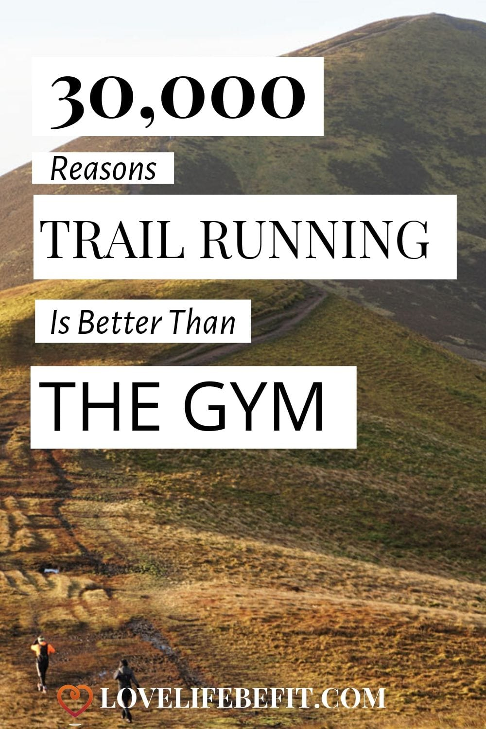 Trail running works your core, leg muscles and upper body. Yes I did say upper body! 30,000 steps in the Pentlands yesterday and my arms are tired! Read on to find out why trail running is better than the gym. #trailrunning