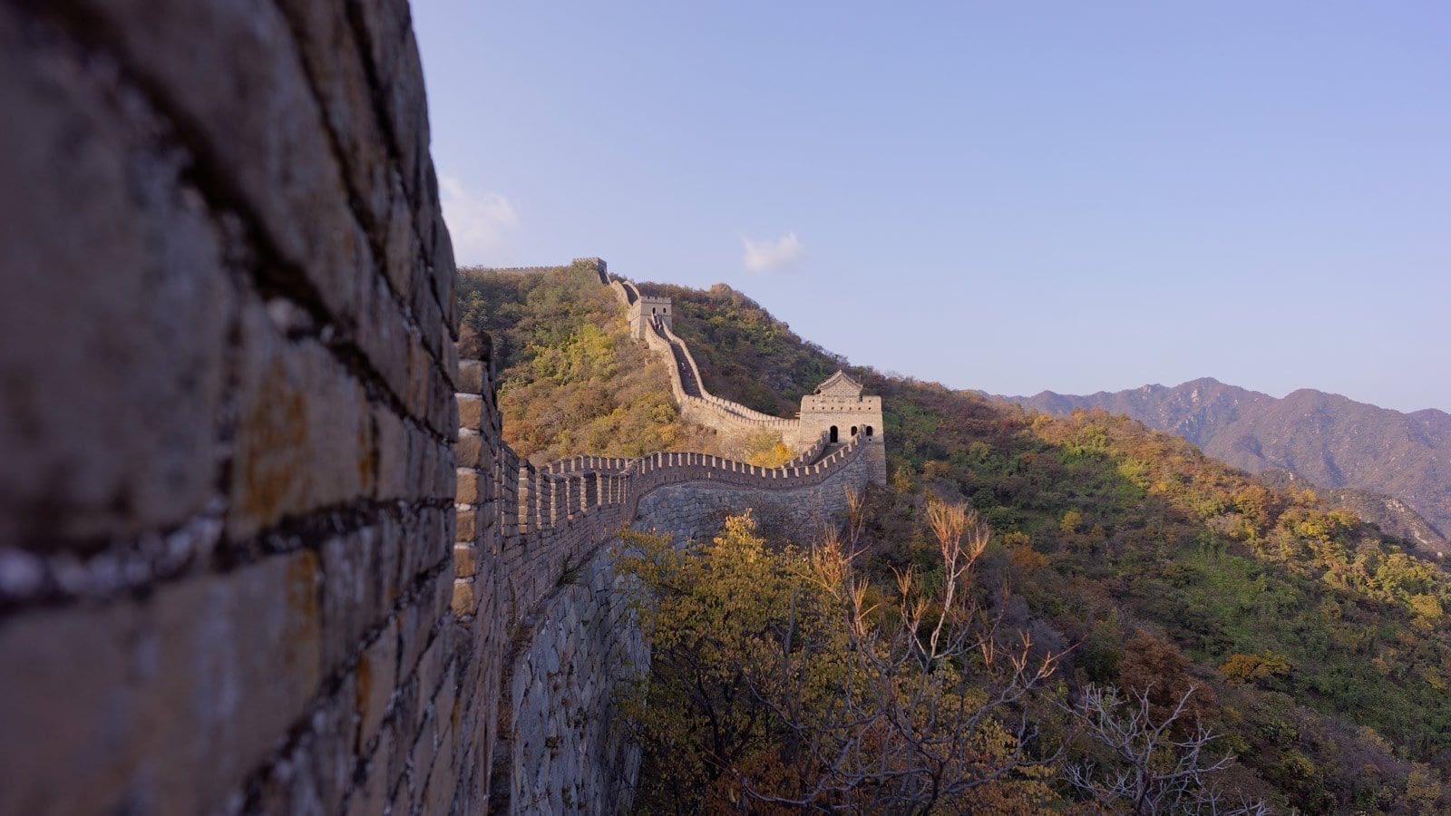 Walking The Entire Great Wall Of China