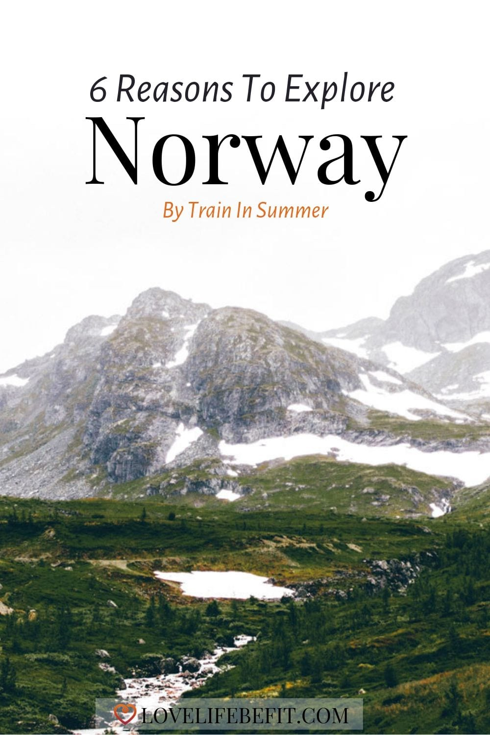 Norway is notorious for being an expensive place to visit but taking the train with a rail pass can be an affordable option. Read on for 6 must-do ideas for exploring this magical country. #traveldestinations #norway
