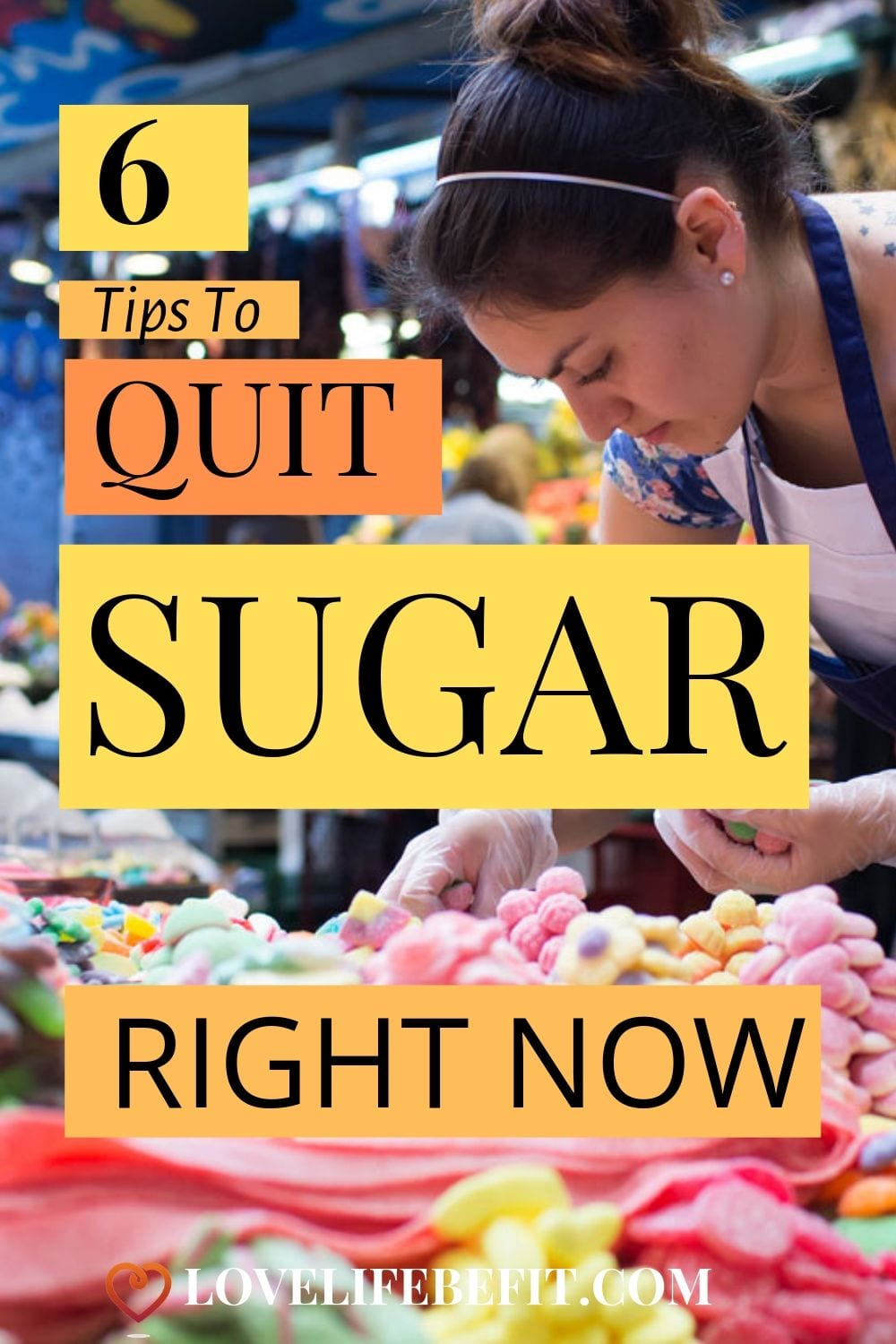 We all know sugar is bad for you. It\'s linked to obesity, increases your risk of developing Type 2 diabetes and causes all sorts of problems from liver damage to depression and heart disease. But quitting isn\'t easy. Follow these 6 tips to help you quit your sugar addiction...#quitsugar