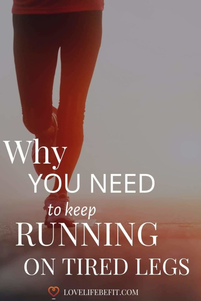 There's zillions of blog posts telling you running on tired legs leads to loss of form and injury. But sometimes it's okay to keep on running. #running #runningtips