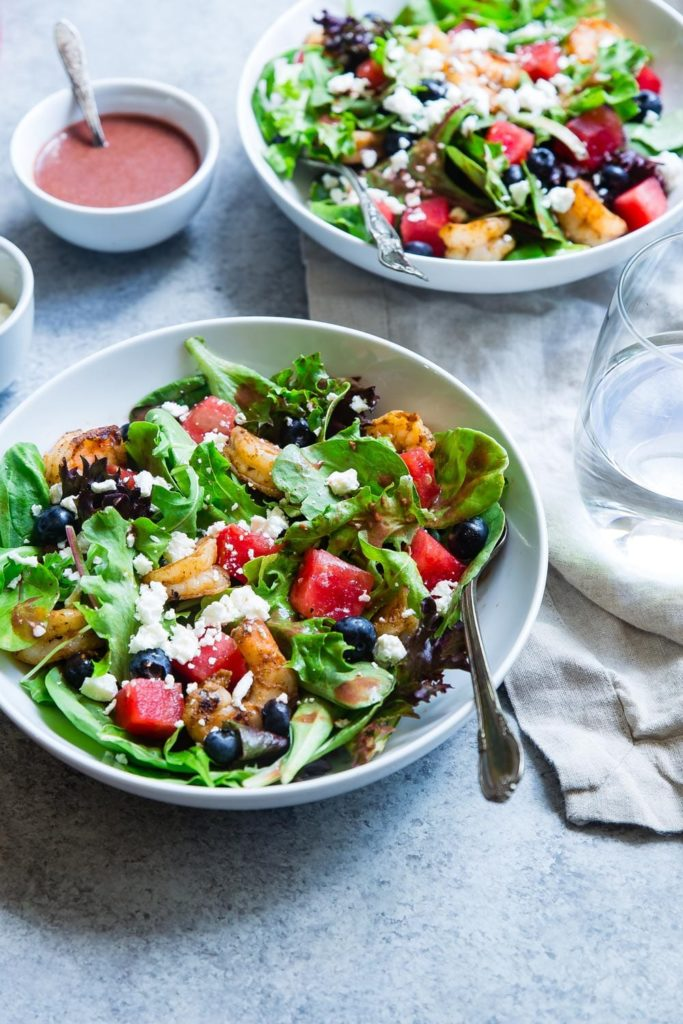 It's always easier to eat healthy food in the summer and summer salad recipes are a simple option. My 7 favourite recipes are some of the best.