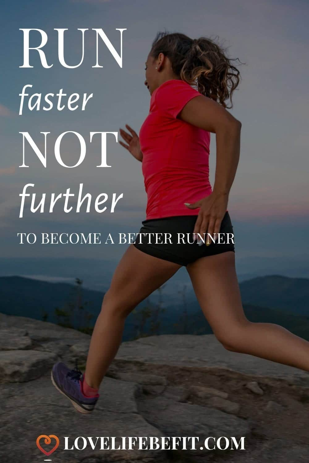 If you want to run faster you have to put in the work. Just building up long slow runs isn\'t going to crack it. Speedwork is essential to run faster...#running #runningtips