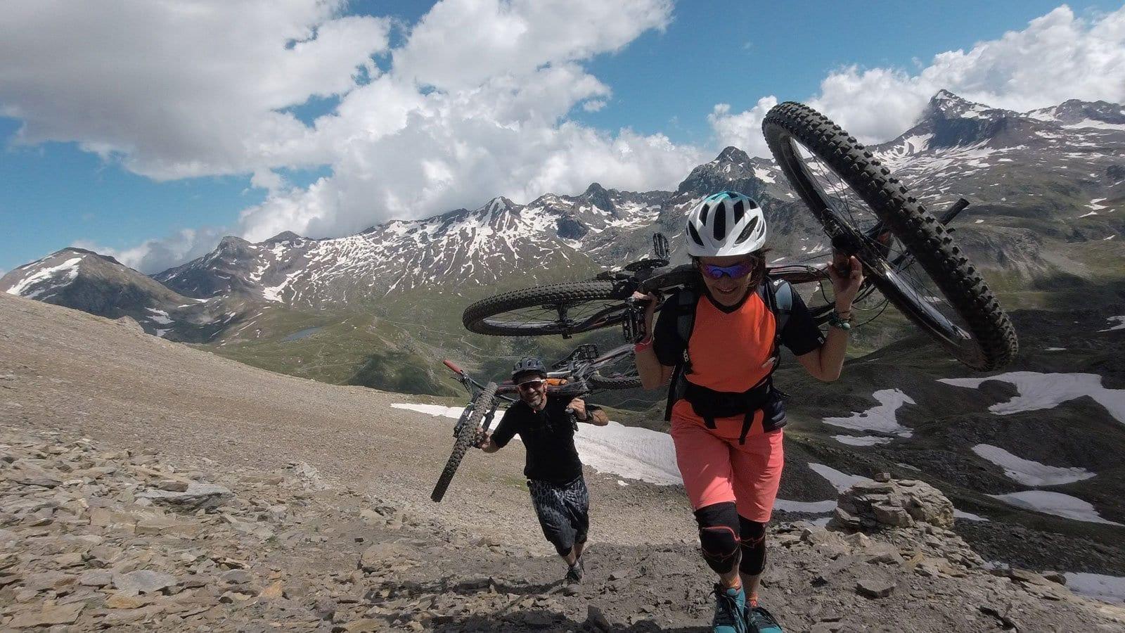 cogne mountain biking