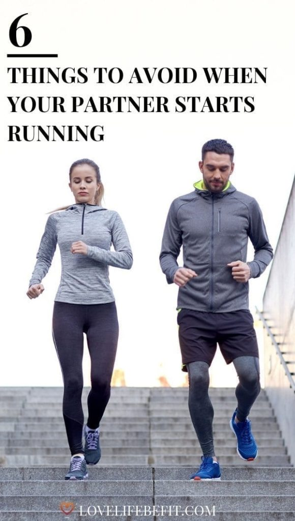 When your partner starts running be warned: you need the skills of a diplomat. There's a fine line between encouragement and sounding condescending... #running #runningtips #runningforbeginners