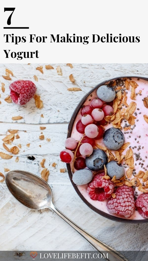 Yogurt is easy to make. It\'s rich in nutrients, calcium, B12 , phosphorus, magnesium, potasium, and high in protein. Most importantly, natural yogurt contains probiotics which are good for your gut and strengthen your immune system. #healthyeating #yogurt