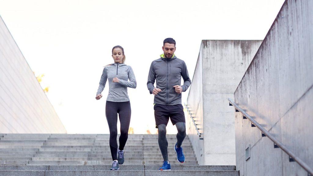partner starts running