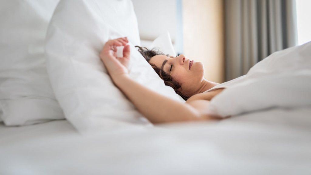 people who sleep well