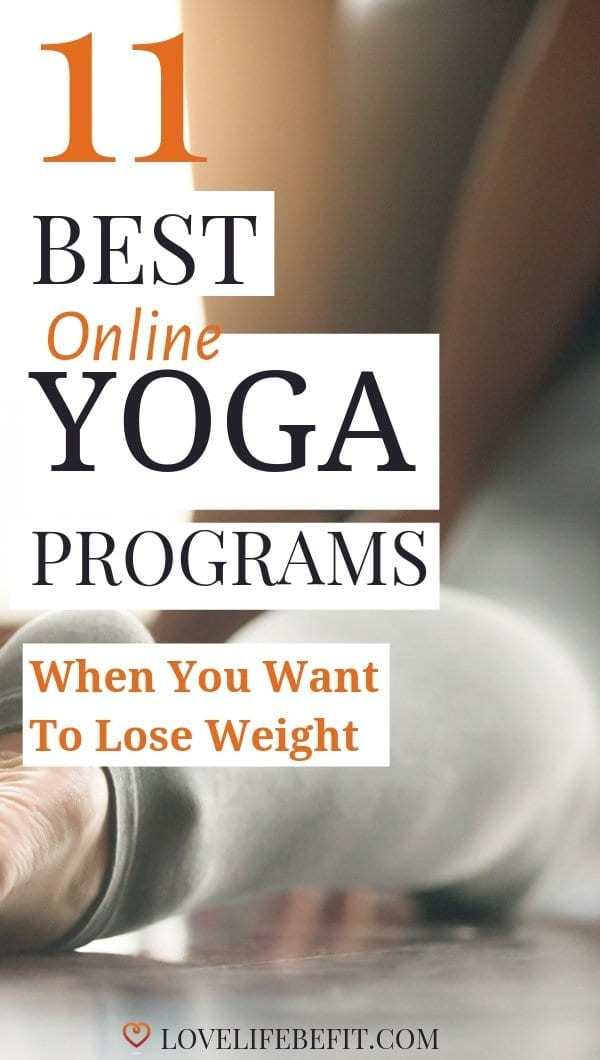 Online Yoga Programs Can Be Really Helpful When You\'re Trying To Lose Weight. You Can Practice Regularly From Home. These Are My Favorite Programs... #yoga #yogaforbeginners #yogaforweightloss
