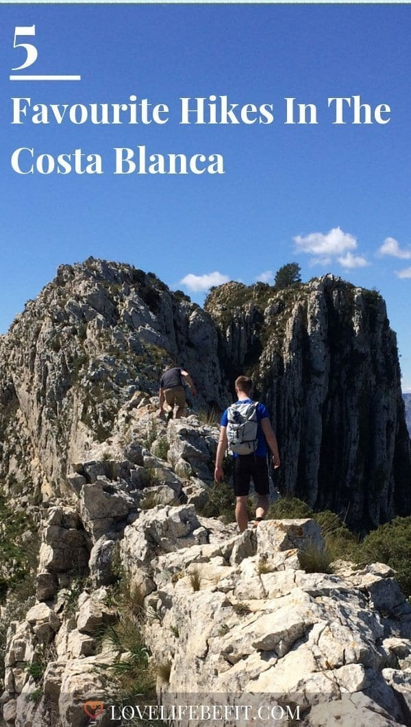 Avoid the clutches of Benidorm, and Costa Blanca is an outdoor lovers paradise. The hiking varies from easy walks to challenging scrambles. #hiking #hikingtrails #costablanca
