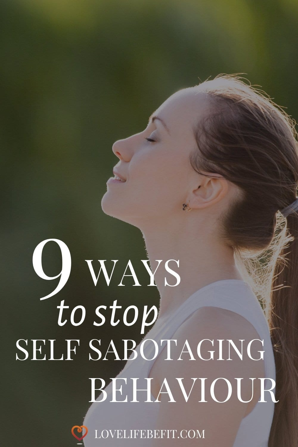 Self-sabotaging behaviour, we all do it. Sometimes we even know we\'re doing it, whilst we\'re doing it. It\'s time to stop...read on for my tips... #selfsabotage #selfsabotaging #mindfulness #selflove
