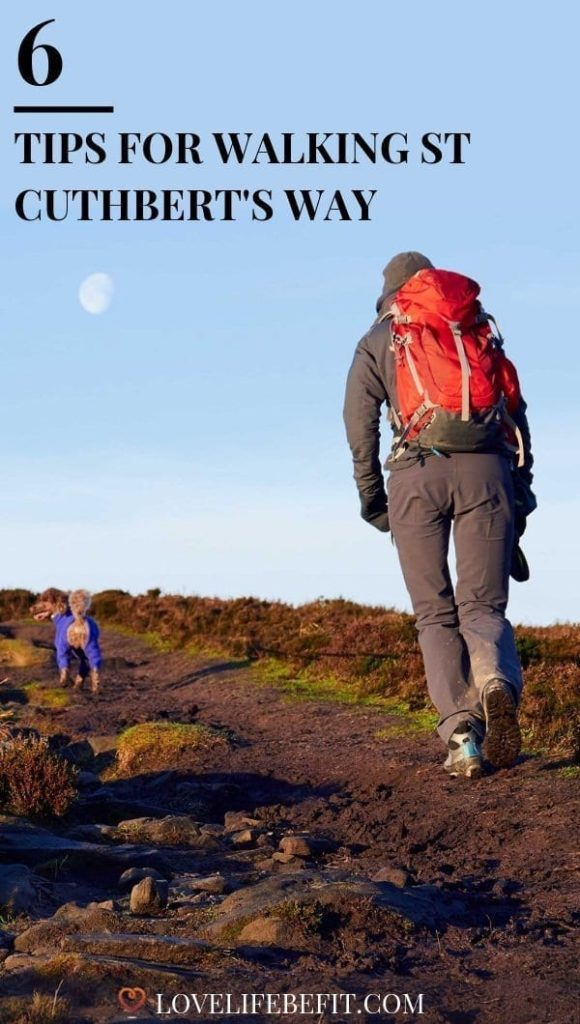You don't need to be a pilgrim to enjoy the walk, I've only once seen a group carrying a heavy wooden cross. It's 100 km (62.5 miles) and takes you through some of the best scenery the Borders and Northumberland has to offer. Here are my tips for walking St Cuthbert's Way. #hiking #hikingtrails #walking