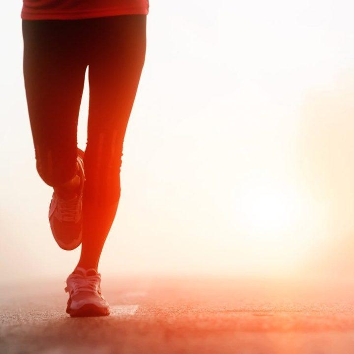 running on tired legs