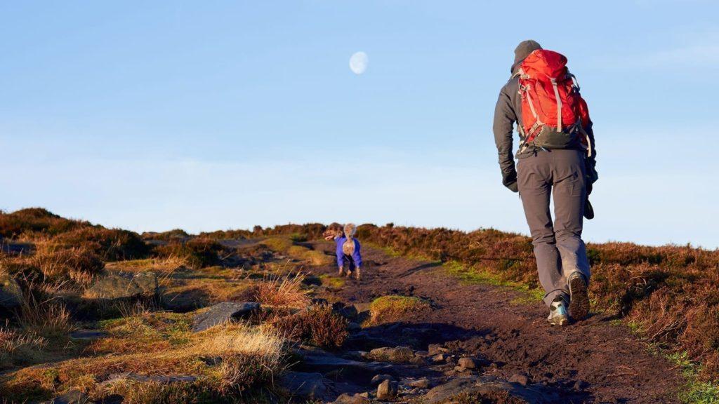 st cuthbert's way hiking
