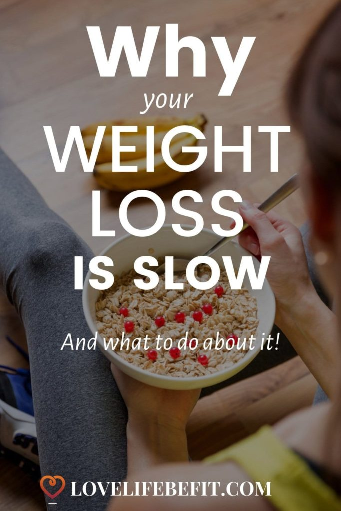 Is your weight loss slow? Have you reached the hell hole of the weight loss plateau? Find out why you're not losing weight and what to do about it...#weightloss #weightlossplateau #weightlosstips