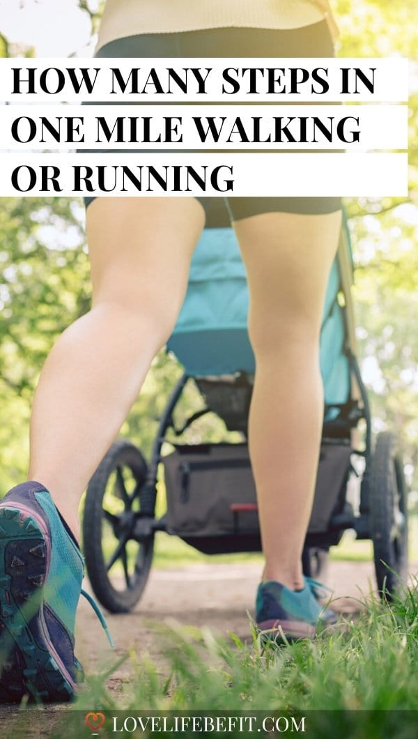 How Many Steps In One Mile Walking Or Running?