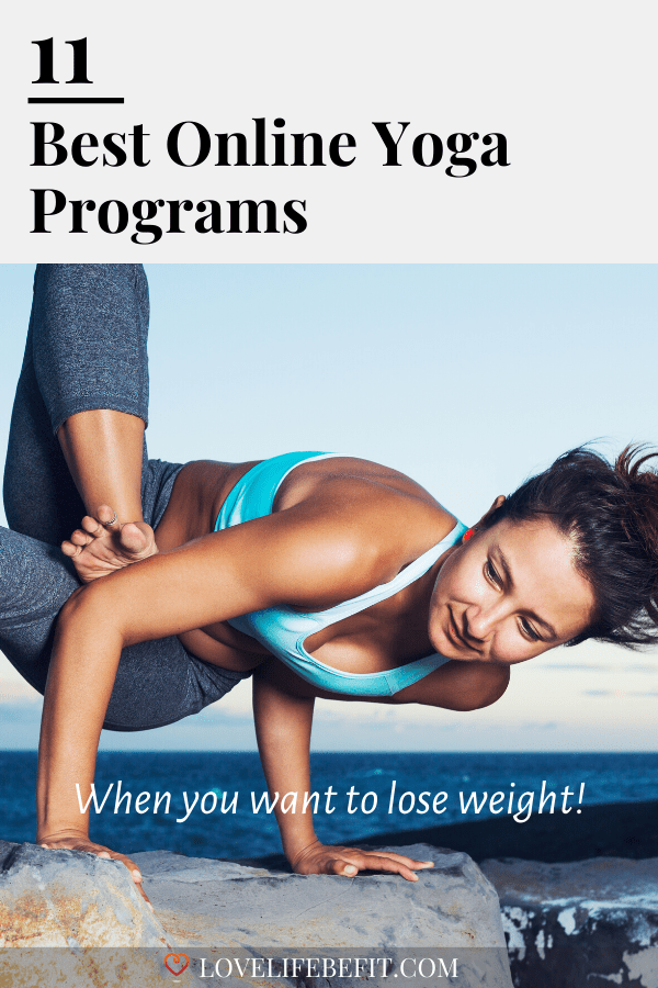 Online Yoga Programs Can Be Really Helpful When You're Trying To Lose Weight. You Can Practice Regularly From Home. These Are My Favorite Programs...