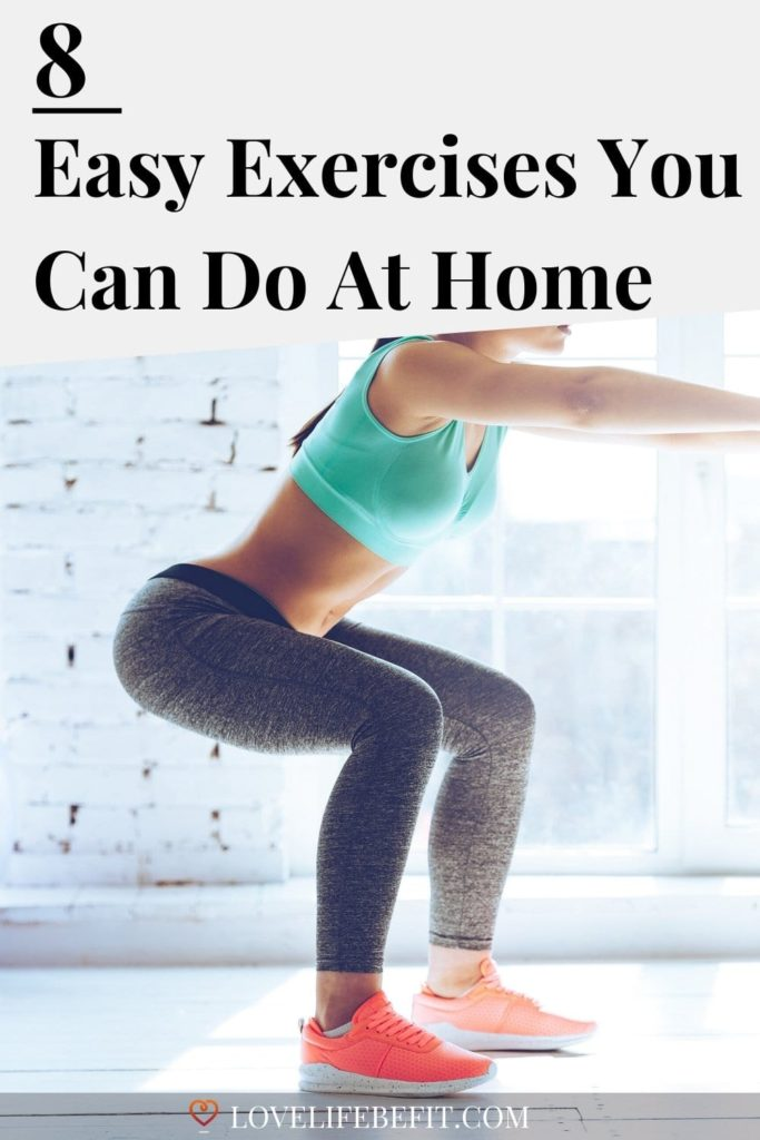 Easy at home exercises