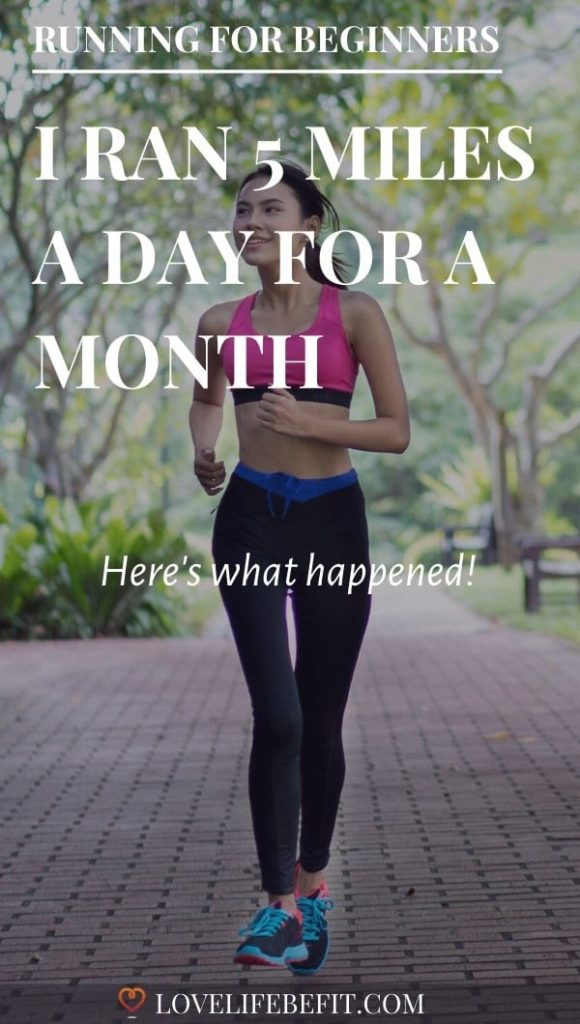 I ran 5 miles a day for a month - here's what happened
