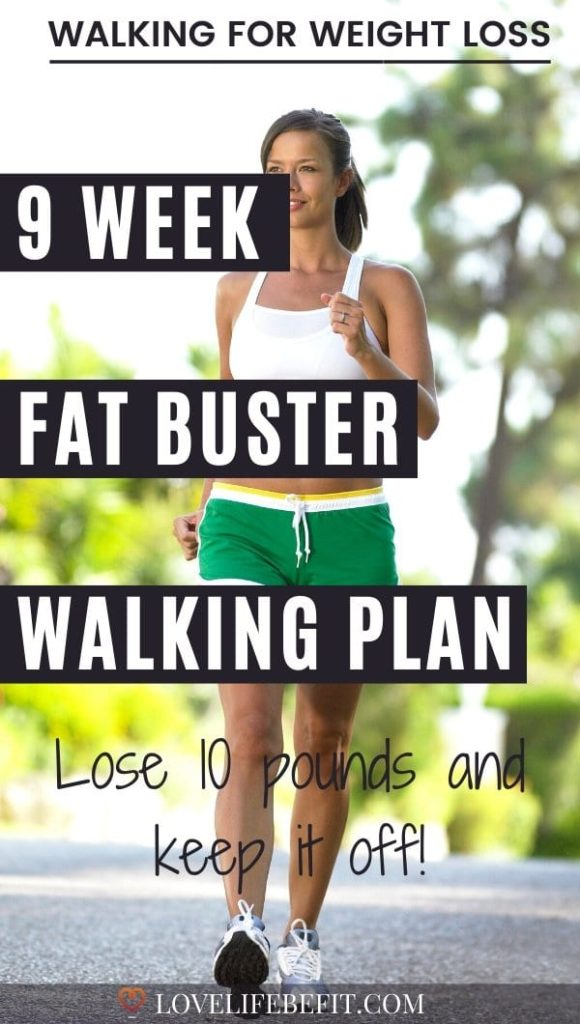walk to lose 10 pounds