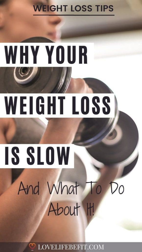 why your weight loss is slow
