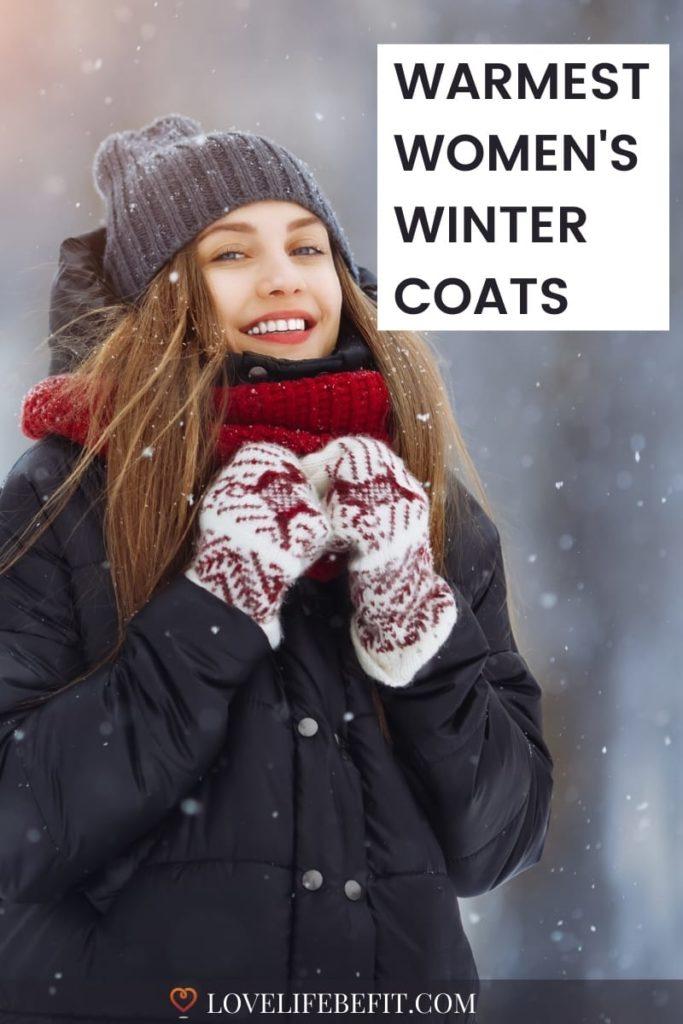 warmest women's winter coats