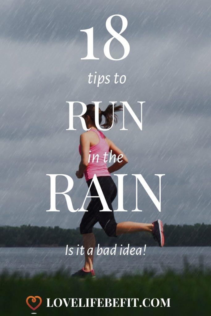 Tips to Run in the Rain