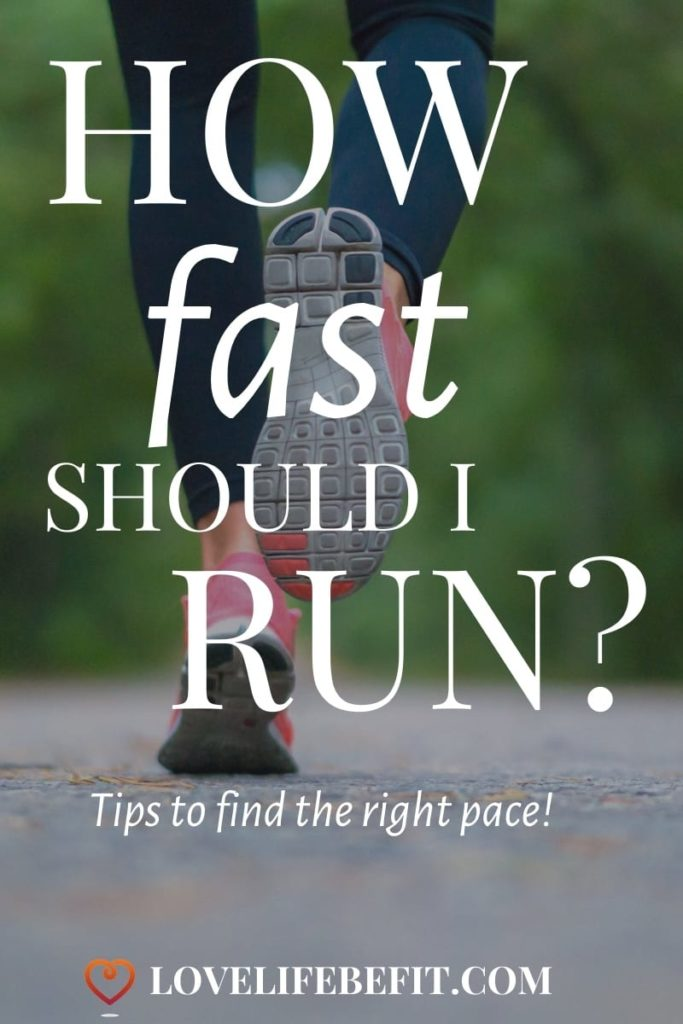 how fast should I run