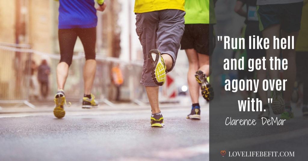 motivational running quotes for hard runs