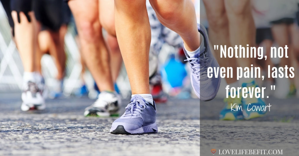 motivational running quotes to get through the pain