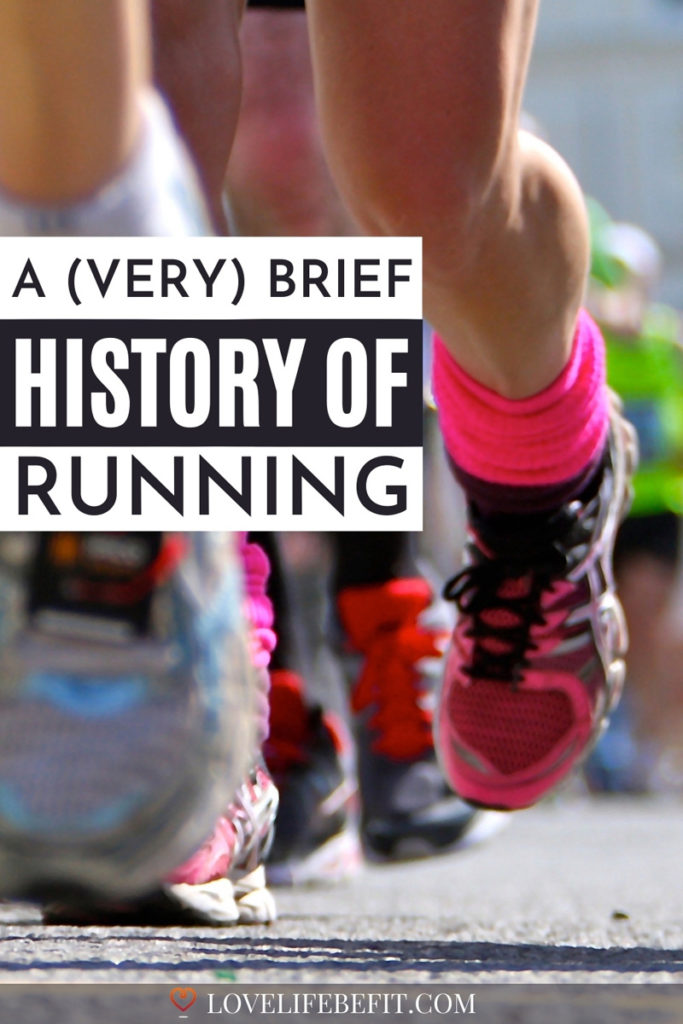 when was running invented - a brief history of running
