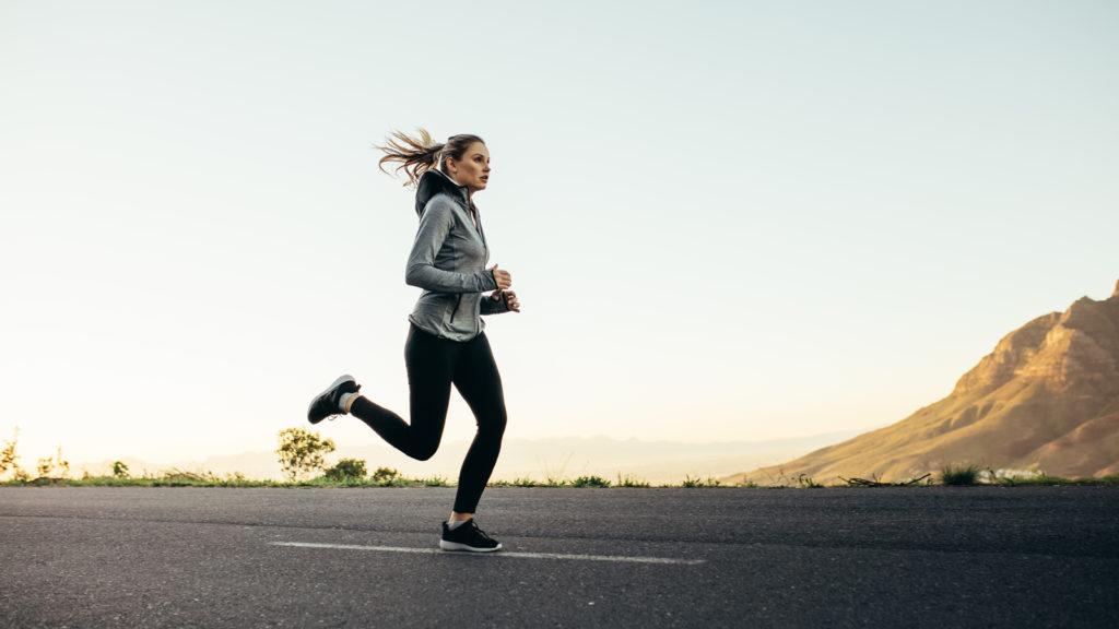 run 5 miles a day - add intervals