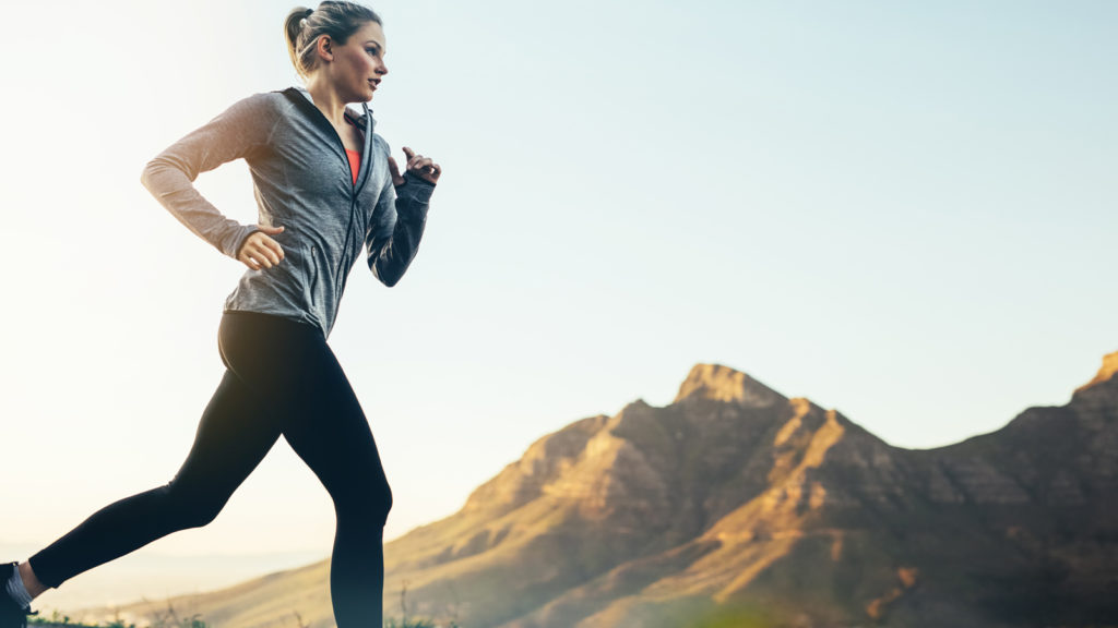 run every day - start slowly and build your mileage