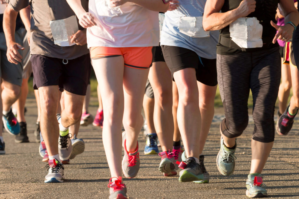 improve cadence to prevent heavy legs running
