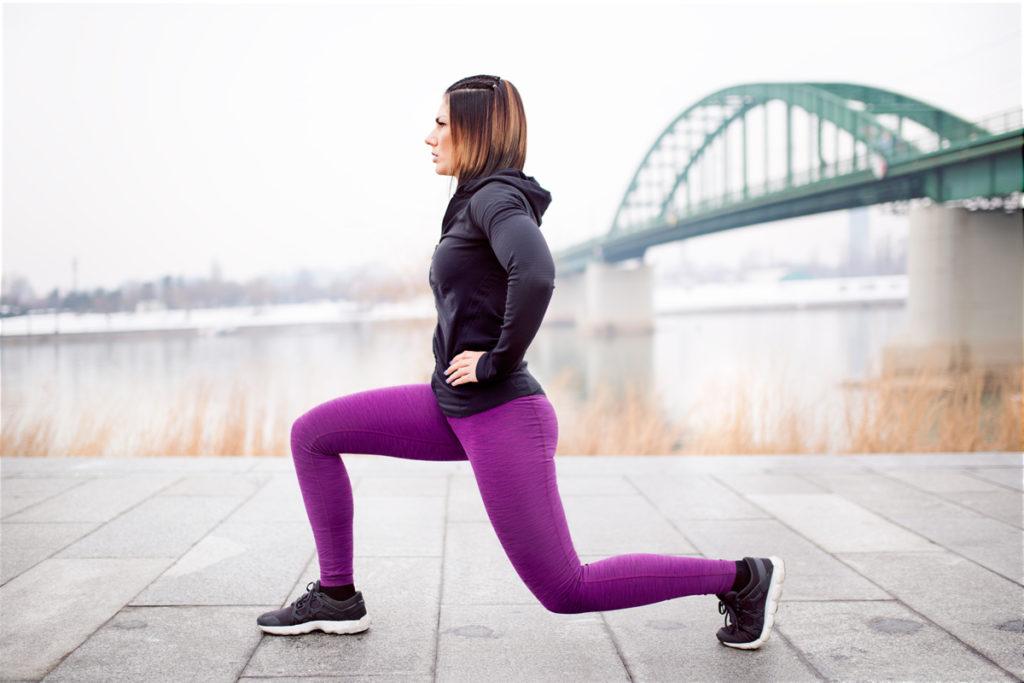 strength training to avoid heavy legs running