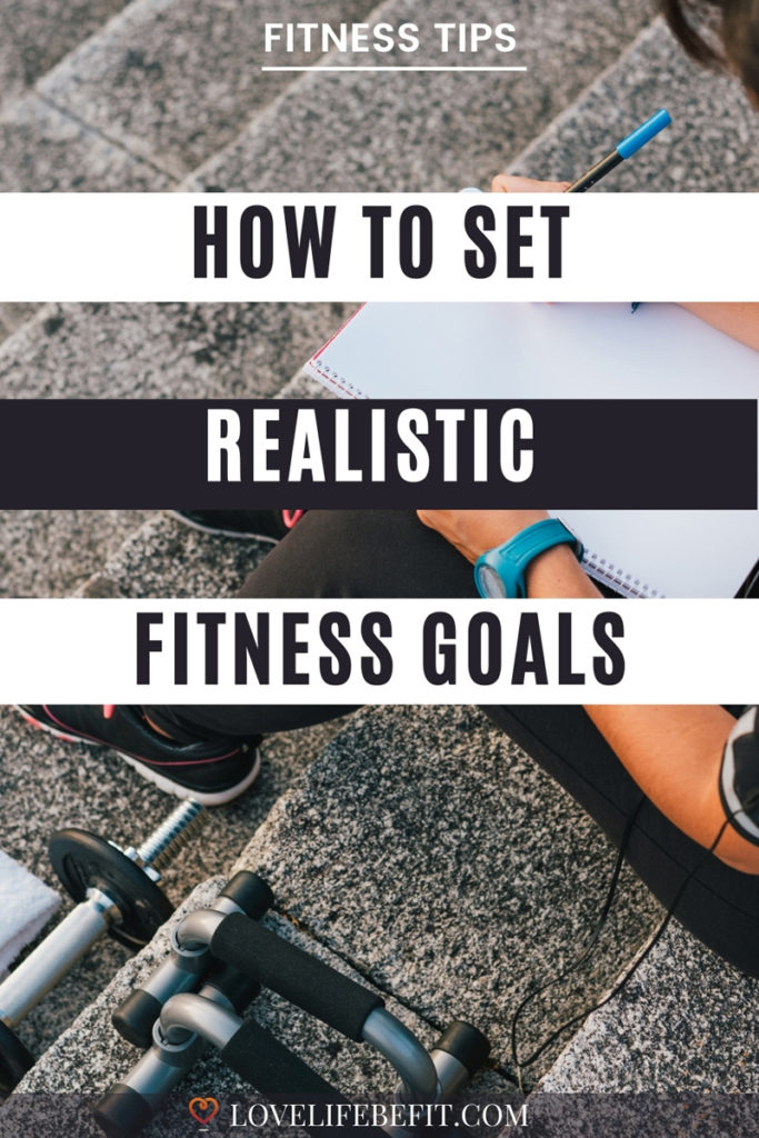 how to set realistic fitness goals