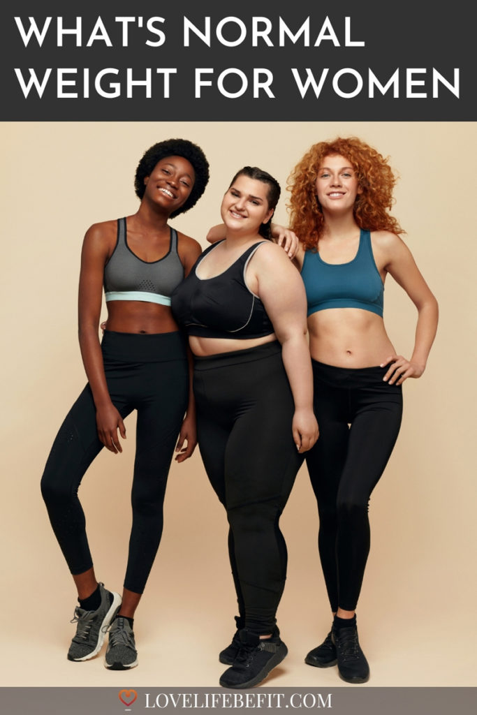 What's normal weight for women?